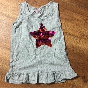 Girls childrens place sparkle tank top medium